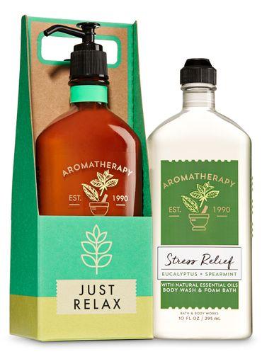 Set-De-Regalo-Aromaterapia-Eucalyptus-Spearmint-Bath-Body-Works