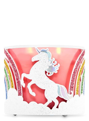 Porta-Vela-Glittery-Unicorns-Bath-Body-Works