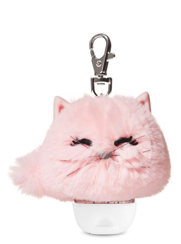 Porta-Antibacterial-Pink-Cat-Pom-Bath-Body-Works