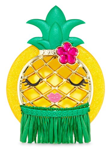 Porta-Fragancia-Para-El-Carro-Hula-Pineapple-Visor-Clip-Bath-Body-Works