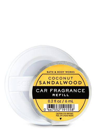Fragancia-Para-El-Carro-Coconut-Sandalwood-Bath-Body-Works