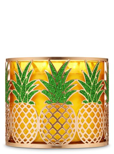 Porta-Vela-Pineapple-Bath-and-Body-Works
