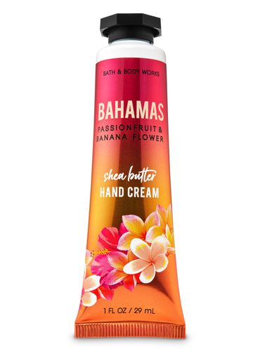 Crema-Para-Manos-Bahamas-Passionfruit---Banana-Flower-Bath-and-Body-Works