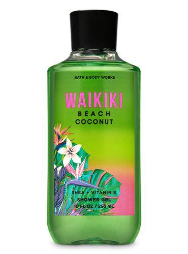 Gel-De-Baño-Waikiki-Beach-Coconut-Bath-and-Body-Works