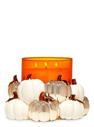 Porta-Vela-Modern-Pumpkins-Bath-and-Body-Works