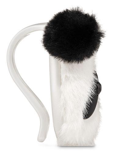 Porta-Fragancia-Para-El-Carro-Fuzzy-Panda-Visor-Clip-Bath-and-Body-Works