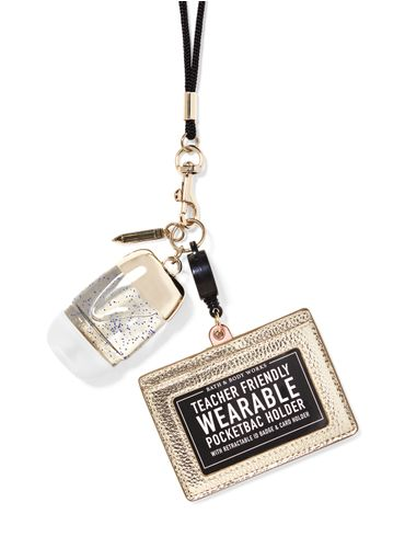 Porta-Antibacterial-Wearable-Gold-ID-Card-Bath-Body-Works