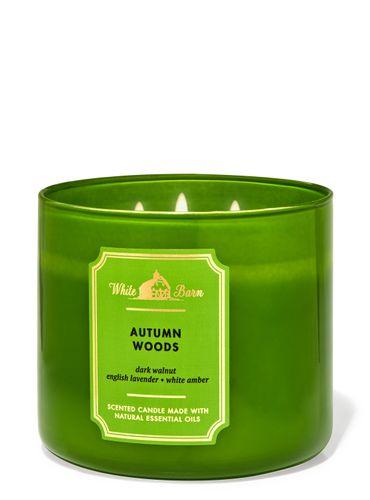 Vela-3-Mechas-Autumn-Woods-Bath-Body-Works