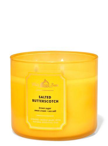 Vela-3-Mechas-Salted-Butterscotch-Bath-Body-Works