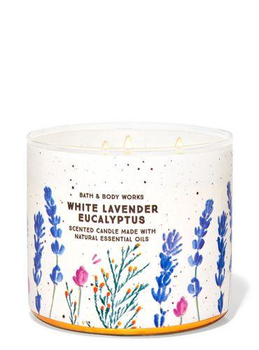 Vela-3-Mechas-White-Lavender-Eucalyptus-Bath-Body-Works