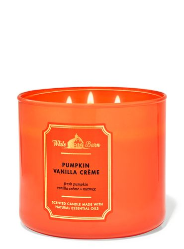 Vela-3-Mechas-Pumpkin-Vanilla-Cr-egrave-me-Bath-Body-Works